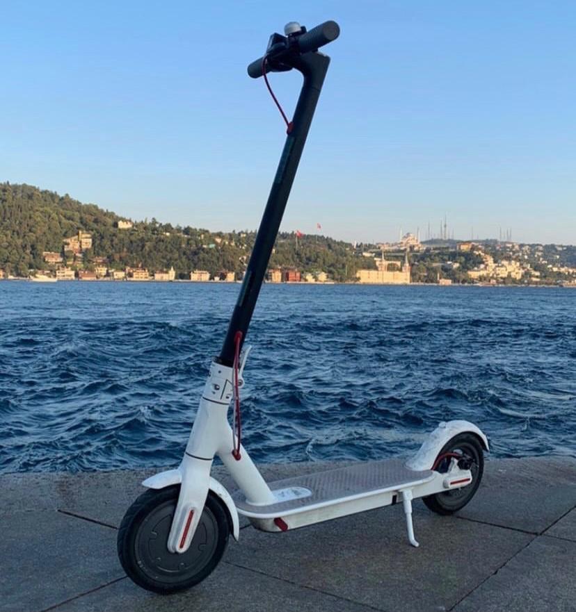 Elektrikli Scooter Kullanımı